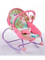 Detské ležadlo 2v1 Baby Mix pink BABY MIX