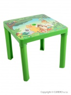 Detský záhradný nábytok - Plastový stôl STAR PLUS