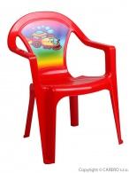 Detský záhradný nábytok - Plastová stolička STAR PLUS