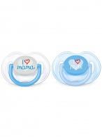 Dojčenský cumlík Avent 0-6 mesiacov - 2ks modrý AVENT