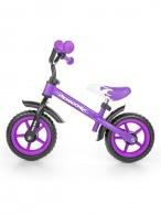 Detské odrážadlo kolo Milly Mally Dragon purple MILLY MALLY