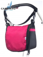 Taška na kočík CARETERO - raspberry CARETERO
