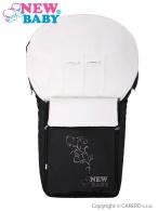 Luxusný fleecový fusak New Baby čierny NEW BABY
