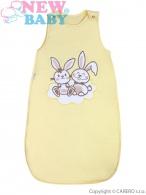 Spací vak New Baby Bunnies žltý NEW BABY