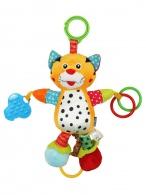 Detská plyšová hračka s vibráciou Baby Mix Tygrík BABY MIX