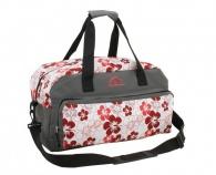 Šedá cestovní taška 34L 56075-0-3 Friedrich Lederwaren