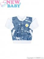 Dojčenská mikinka New Baby Light Jeansbaby biela NEW BABY