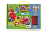 Puzzle pěnové - farma