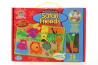 Puzzle pěnové - safari