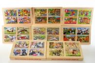 Puzzle 4v1 v krabičce