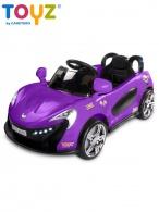 Elektrické autíčko Toyz Aero - 2 motory a 2 rýchlosti fialové TOYZ