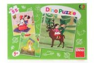 Dino Puzzle 3x55 České pohádky