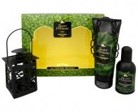 Tesori d´Oriente - Sandalo del Kashmir & Vetiver - EDT 100 ml + sprchový gel 250 ml + lucernička
