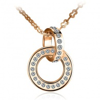 Vicca® Náhrdelník Gold Circle OI_140810_gold