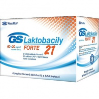 GreenSwan GS Laktobacily Forte21 60 kapslí + 20 kapslí ZDARMA