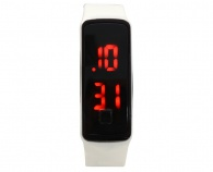 SiliconWay LED Watch KT-9150 White