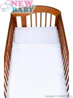 2-dielne posteľné obliečky New Baby 90/120 cm biele NEW BABY