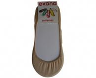 Tělové dámské ponožky do balerín Balerínky-230 Evona
