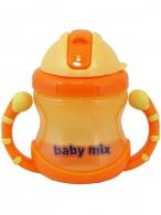 Detský kúzelný hrnček Baby Mix 200 ml orange BABY MIX