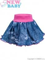 Dojčenská suknička New Baby Light Jeansbaby ružová NEW BABY
