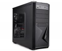 Zalman case midtower Z9 Plus, mATX/ATX, průhledný bok, bez zdroje, černá