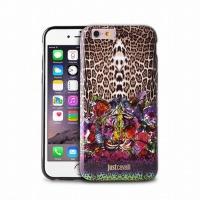 """Just Cavalli zadní kryt """"Leo Tiger Garden"""" pro iPhone 6, černá"""