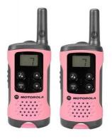 Motorola TLKR T41 vysílačka (2 ks, dosah až 4 km), růžová