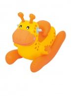 Detské nafukovacie hojdacie zvieratko Bestway oranžové BESTWAY