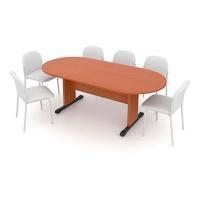 Jednací stůl - oválný 210 cm