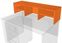 Nástavec psacího stolu 120 cm