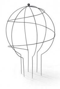 Květinový stojan Corinto globus
