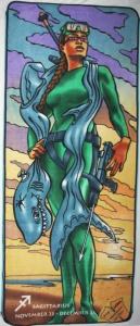 Plážová podložka Zip-Large Sagittarius