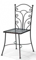 Kovaná židle Smaragd