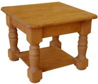 Konferenční stolek - oblá police