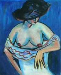 Obraz - Žena v klobouku