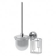 Držák osvěžovače vzduchu a toaletní štětka