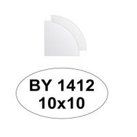 Zrcadlový obklad 10x10 - 2ks