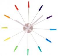 Designové nástěnné hodiny 2610di Nextime Plug Inn color 60cm