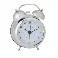 Designový budík 5111zi Nextime Wake Up 12cm