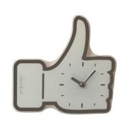 Designové nástěnné hodiny 5185wi Nextime mini Facebook Like 21cm