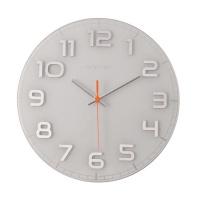 Designové nástěnné hodiny 8817wi Nextime Classy round 30cm