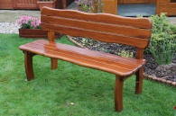Zahradní lavice Lorit s opěrkou
