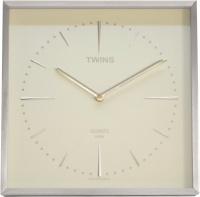 Nástěnné hodiny Twins 2904 white 28cm