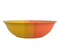 Mísa oranžovo/žlutá 24,5cm