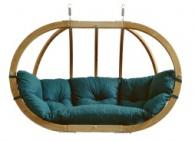 Závěsné křeslo Globo Royal Chair Green Weatherproof