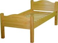 Dřevěná postel Max+15