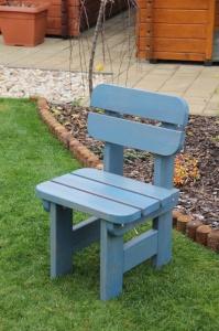 Dětská zahradní židle