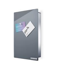 Skříňka na klíče Velio šedá - střední