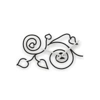 Designové nástěnné hodiny tetování 2018 Calleadesign 115cm (20barev)