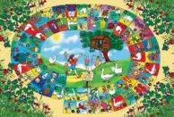 Dětský koberec Hrací koberec Spirála 1001098